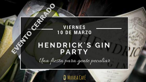 Hendrick´s Gin Party