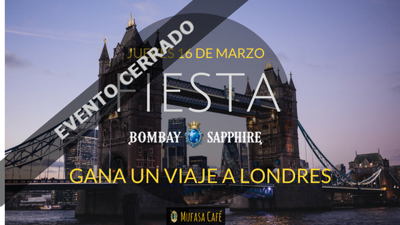 "Fiesta Bombay Sapphire: participa en ""The Grand Journey"""
