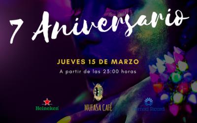 7 Aniversario Mufasa Café