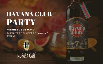 Havana Club Party en Mufasa Café