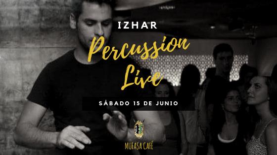 Izhar Percussion Live